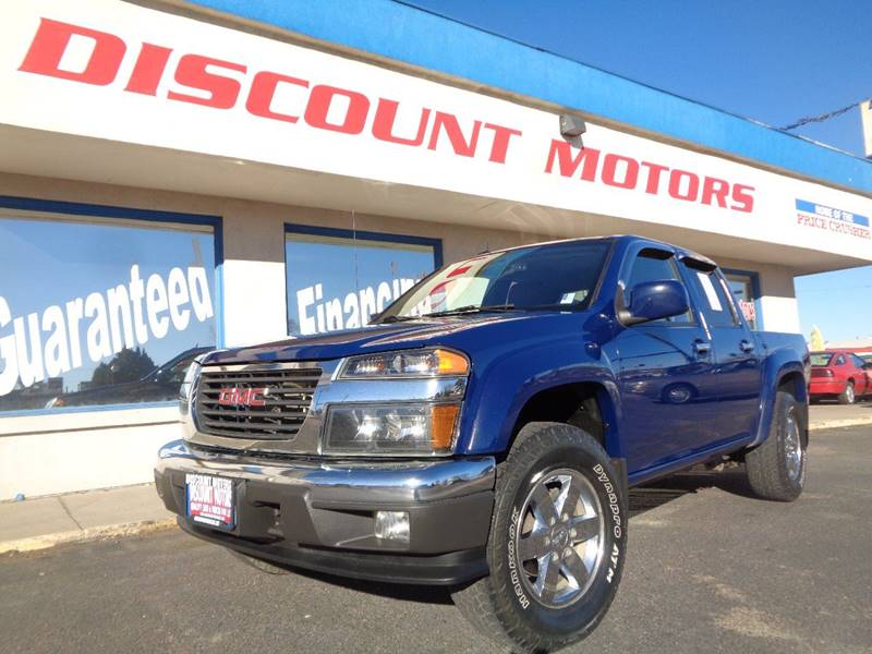 2012 gmc canyon 4x4 sle 2 4dr crew cab in pueblo co discount motors 2012 gmc canyon 4x4 sle 2 4dr crew cab pueblo co publicscrutiny Images
