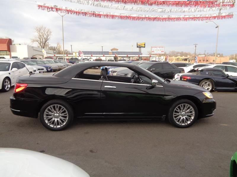 2011 chrysler 200 convertible limited 2dr convertible in for Discount motors pueblo co