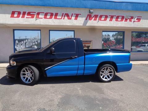 2004 Dodge Ram Pickup 1500 SRT-10 for sale at Discount Motors in Pueblo CO