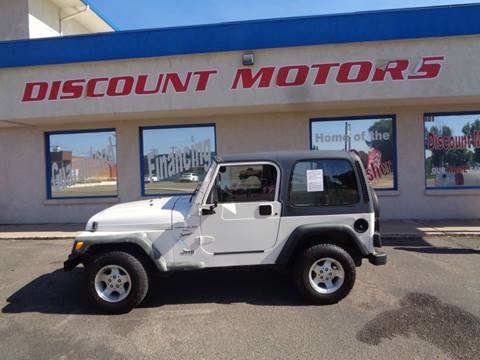 2001 Jeep Wrangler for sale in Pueblo, CO