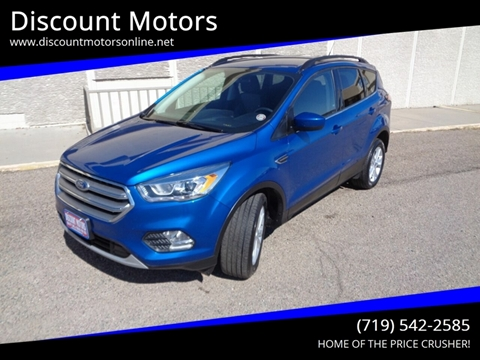 2017 Ford Escape for sale at Discount Motors in Pueblo CO