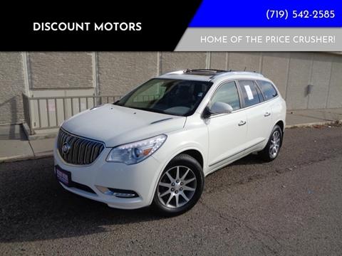 2015 Buick Enclave for sale at Discount Motors in Pueblo CO