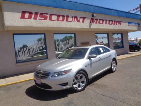 2012 Ford Taurus for sale at Discount Motors in Pueblo CO