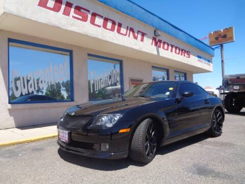 2005 Chrysler Crossfire SRT-6 for sale at Discount Motors in Pueblo CO