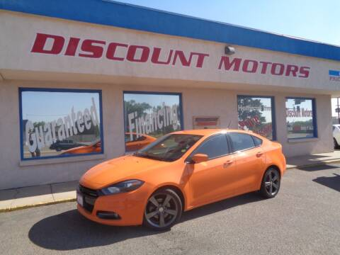 2013 Dodge Dart for sale at Discount Motors in Pueblo CO