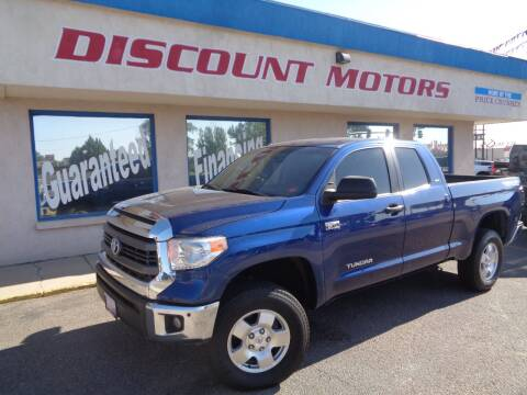 2015 Toyota Tundra for sale at Discount Motors in Pueblo CO