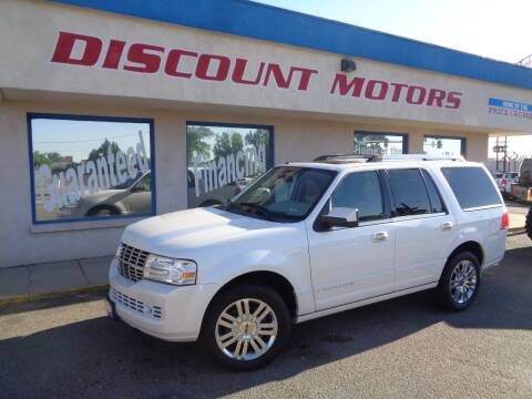 2009 Lincoln Navigator for sale at Discount Motors in Pueblo CO