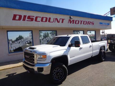 2018 GMC Sierra 2500HD for sale at Discount Motors in Pueblo CO