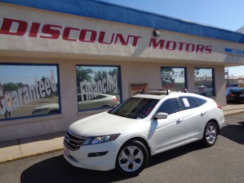 2012 Honda Crosstour for sale at Discount Motors in Pueblo CO
