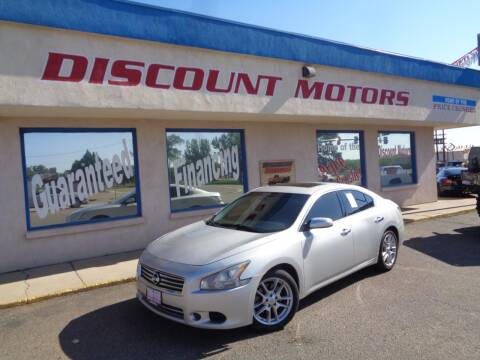 2014 Nissan Maxima for sale at Discount Motors in Pueblo CO