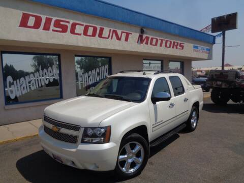 2012 Chevrolet Avalanche for sale at Discount Motors in Pueblo CO