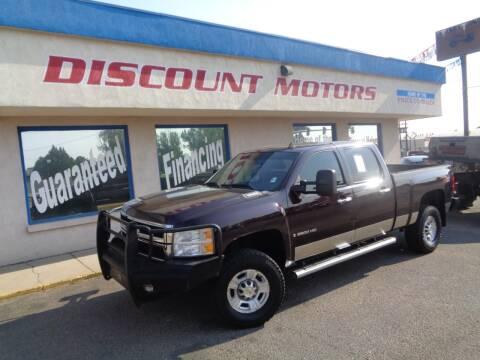 2008 Chevrolet Silverado 2500HD for sale at Discount Motors in Pueblo CO