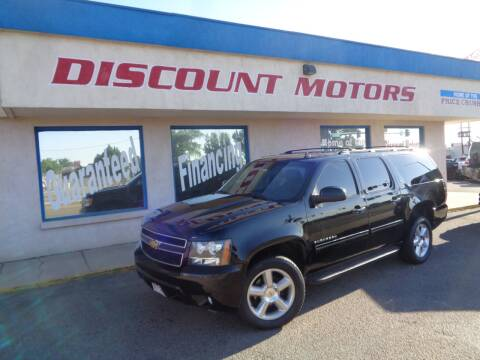2013 Chevrolet Suburban for sale at Discount Motors in Pueblo CO
