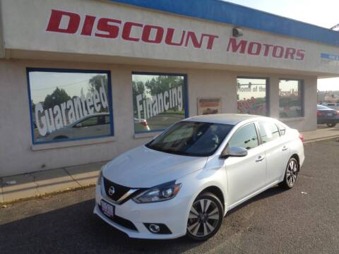 2017 Nissan Sentra for sale at Discount Motors in Pueblo CO