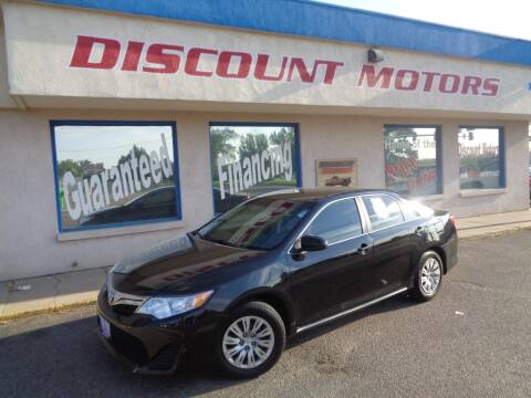 2014 Toyota Camry for sale at Discount Motors in Pueblo CO