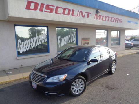 2014 Chrysler 200 for sale at Discount Motors in Pueblo CO