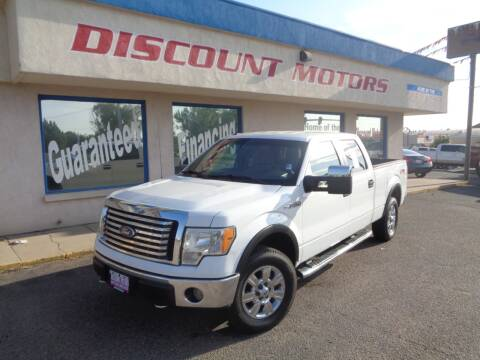 2010 Ford F-150 for sale at Discount Motors in Pueblo CO