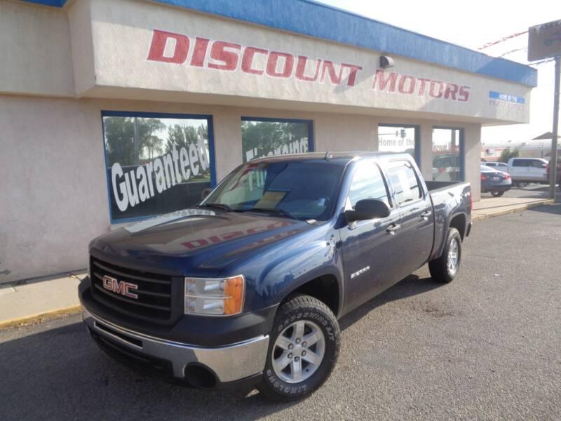 2012 GMC Sierra 1500 for sale at Discount Motors in Pueblo CO
