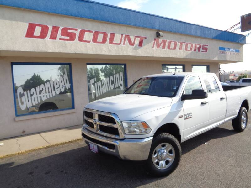 2014 RAM Ram Pickup 3500 for sale at Discount Motors in Pueblo CO