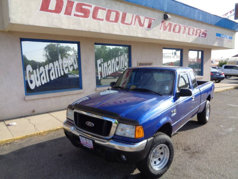 2004 Ford Ranger for sale at Discount Motors in Pueblo CO
