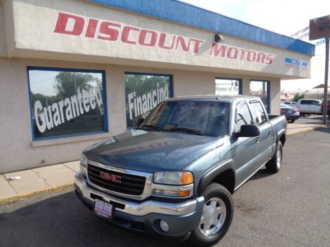2006 GMC Sierra 1500 for sale at Discount Motors in Pueblo CO