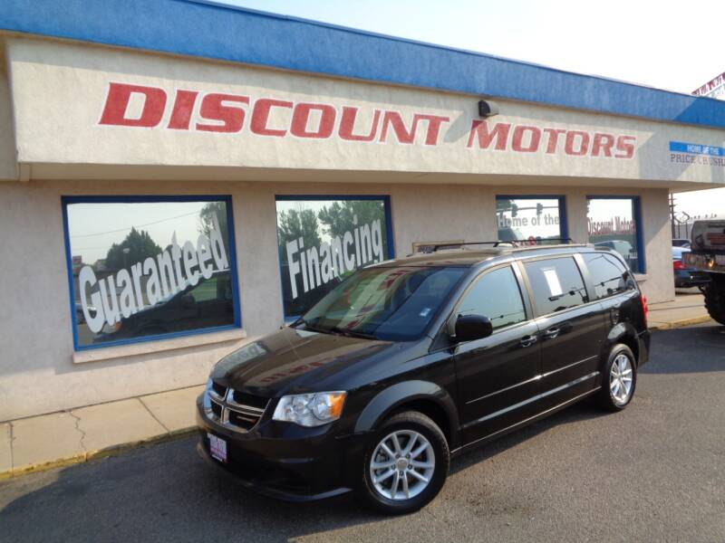 2015 Dodge Grand Caravan for sale at Discount Motors in Pueblo CO