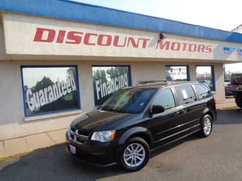 2015 Dodge Grand Caravan for sale at Discount Motors in Pueblo CO