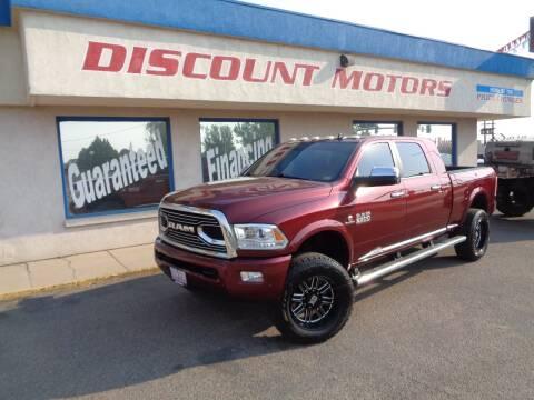 2016 RAM Ram Pickup 2500 for sale at Discount Motors in Pueblo CO