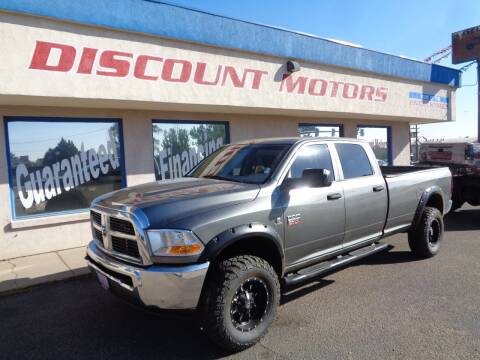 2012 RAM Ram Pickup 3500 for sale at Discount Motors in Pueblo CO