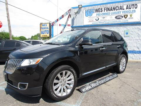 2013 Lincoln MKX for sale in Dearborn Heights, MI