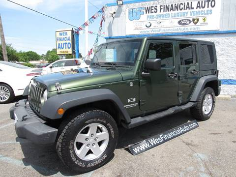 2008 Jeep Wrangler Unlimited for sale in Dearborn Heights, MI