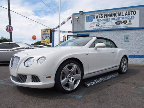 2013 Bentley Continental GTC for sale in Dearborn Heights, MI