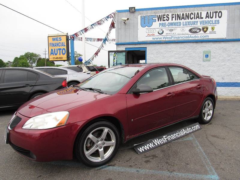 2008 Pontiac G6 car for sale in Detroit