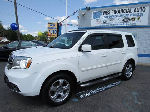 2012 Honda Pilot For Sale >> Honda Pilot For Sale In Dearborn Heights Mi Wes Financial Auto