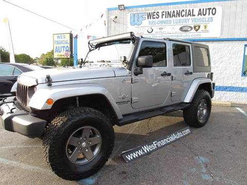 2013 Jeep Wrangler Unlimited for sale in Dearborn Heights, MI