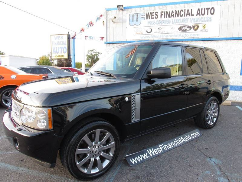 2008 land rover range rover supercharged in dearborn. Black Bedroom Furniture Sets. Home Design Ideas