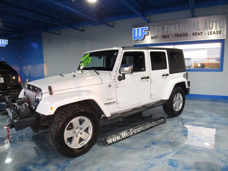 Wonderful 2012 Jeep Wrangler Unlimited For Sale At Wes Financial Auto In Dearborn  Heights MI