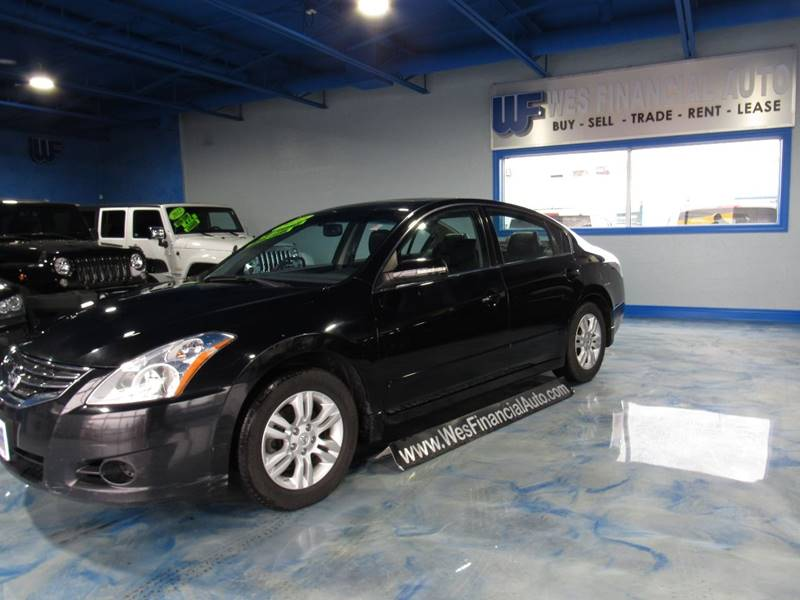 2012 Nissan Altima For Sale At Wes Financial Auto In Dearborn Heights MI