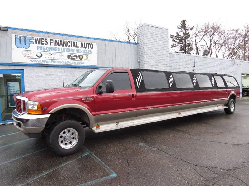2000 Ford Excursion car for sale in Detroit