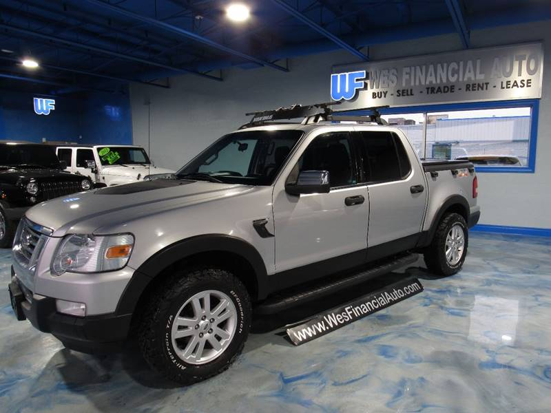 2010 ford explorer sport trac xlt in dearborn heights mi wes financial auto. Black Bedroom Furniture Sets. Home Design Ideas