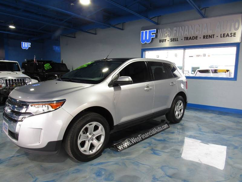 Ford Edge For Sale At Wes Financial Auto In Dearborn Heights Mi