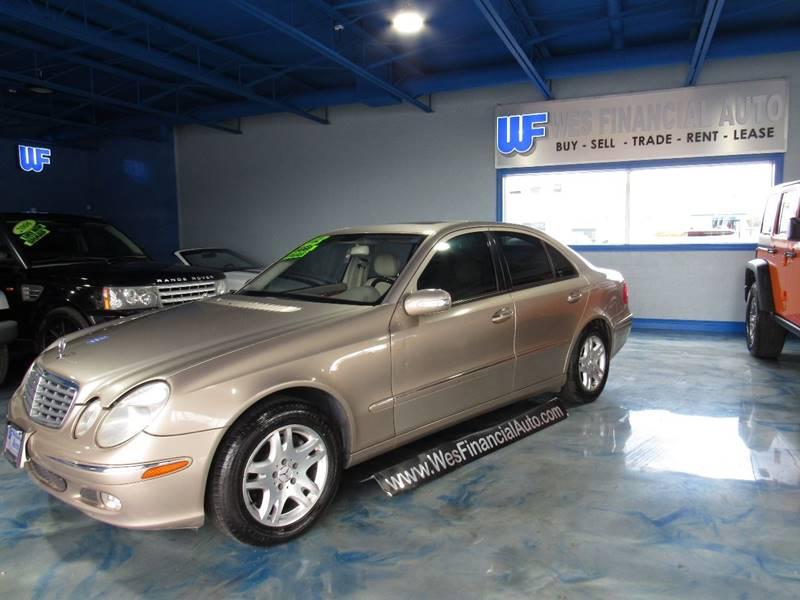 2003 Mercedes-Benz E-class car for sale in Detroit