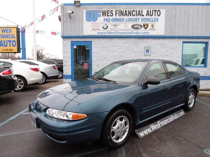 2003 Oldsmobile Alero car for sale in Detroit
