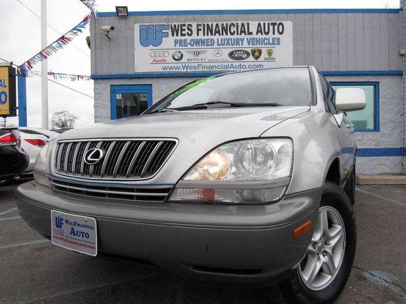 Detroit Used Car For Sale 2001 Lexus Rx 300 48127 At Wes Financial