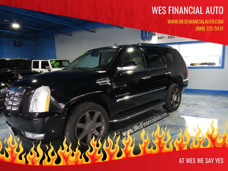 2007 Cadillac Escalade In Dearborn Heights Mi Wes Financial Auto