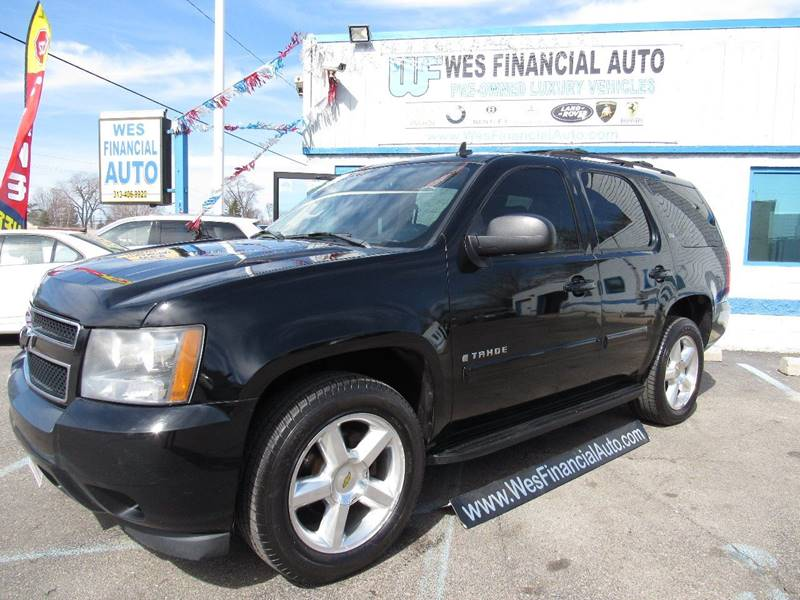 2007 Chevrolet Tahoe car for sale in Detroit