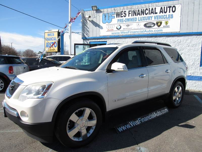 sale at inventory for slt tx auto gmc houston acadia in icon details
