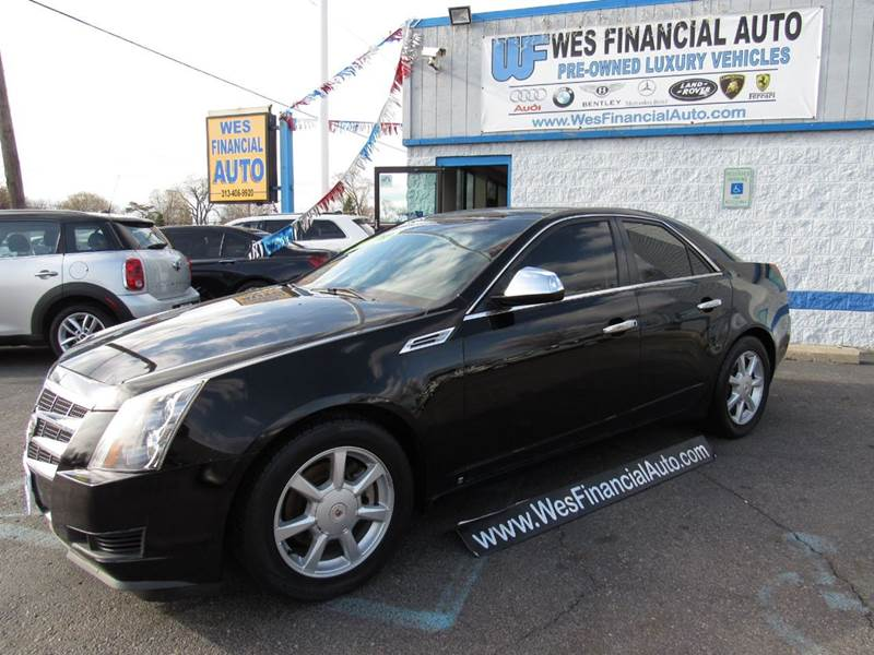 2008 cadillac cts 3 6l v6 in dearborn heights mi wes. Black Bedroom Furniture Sets. Home Design Ideas
