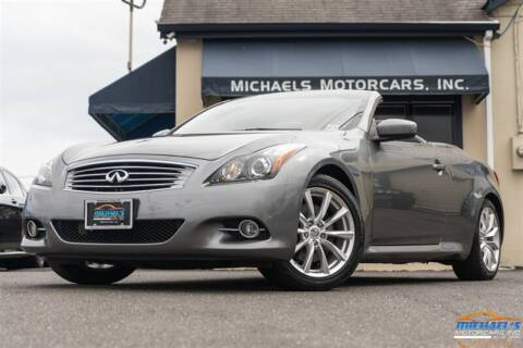 2012 Infiniti G37 Convertible for sale at Michael's Motorcars Inc. in Neptune City NJ