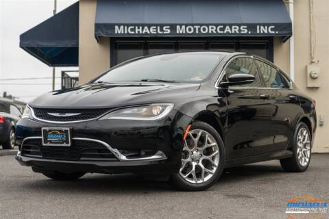 2015 Chrysler 200 C for sale at Michael's Motorcars Inc. in Neptune City NJ